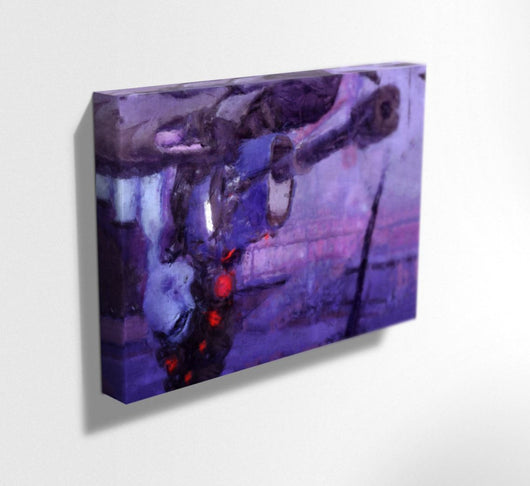 Overwatch Canvas. Widowmaker Mounted Canvas Print.