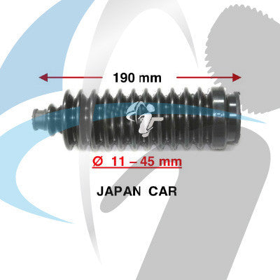 JAPAN CAR STEERING BOOT 11MM-45MM <190>