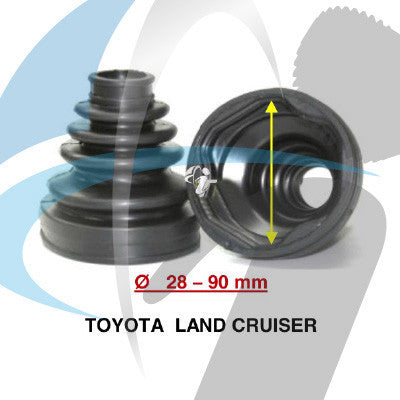 TOYOTA LAND CRUISER CV BOOT