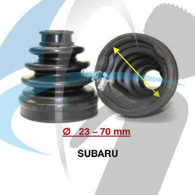SUBARU CV BOOT 23MM-70MM INNER