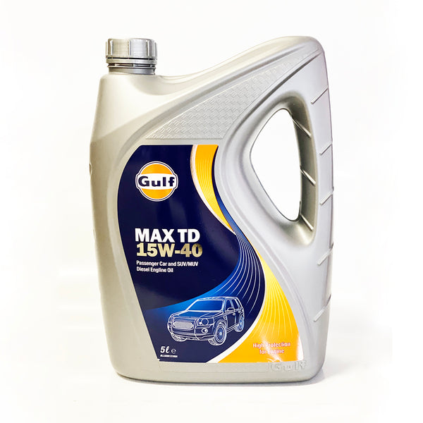 GULF MAX TD 15W40 ENGINE OIL 5L DIESEL