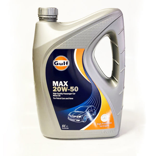 GULF MAX 20W50 ENGINE OIL 5L PETRO