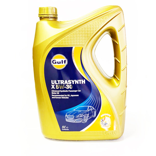 GULF ULTRASYNTH 5W40 ENGINE OIL 5L FULL SYNTHETIC