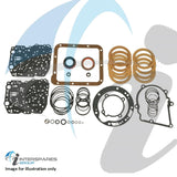 A4LD 1.7MM CLUTCHES REBUILD KIT EXCL STEELS