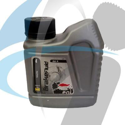 BRAKEFLUID DOT4 VARIOUS 500ML