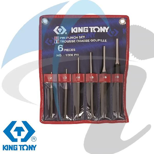 2-8mm PIN PUNCH SET 6 PC