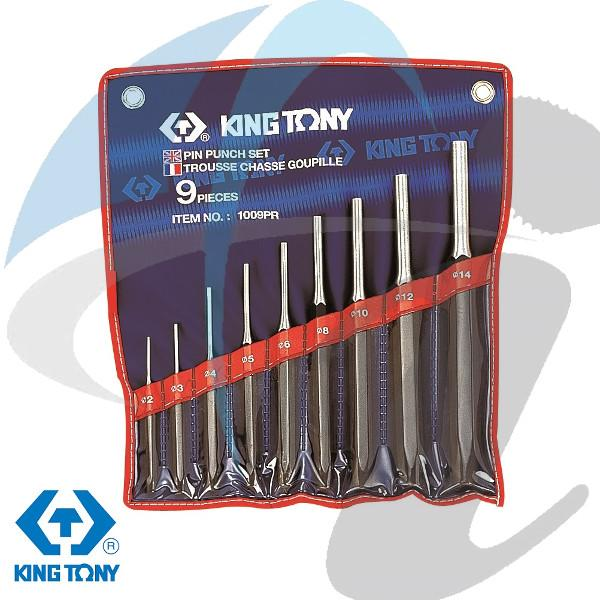 2-14mm 9PC PIN PUNCH SET