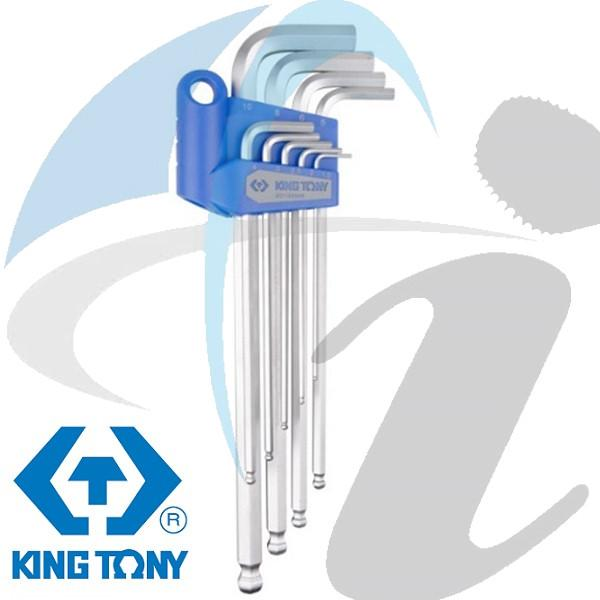 1.5-10MM ALLEN KEY SET LONG BALL 9PC