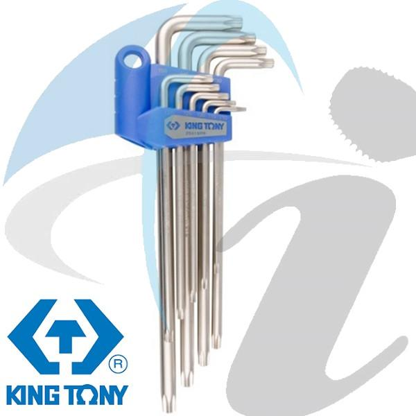 T10-T50 TORX L KEY SET 9PC TAMPER PROOF