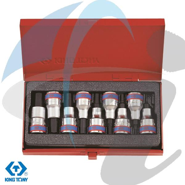 H3-H14 9PC HEX SET 1/2''DR