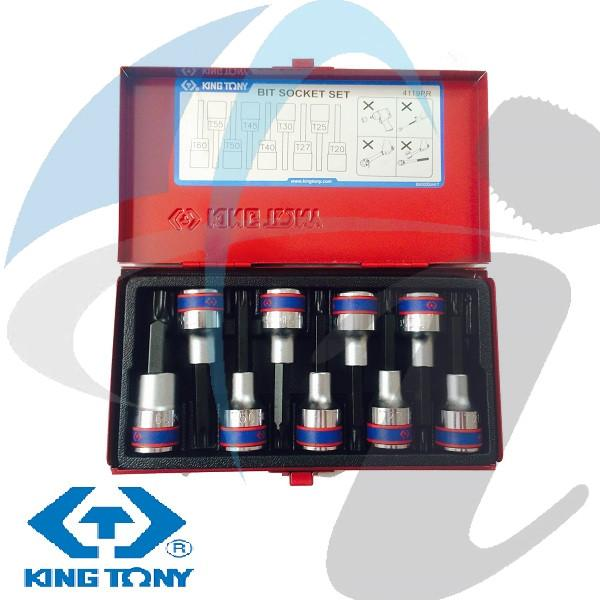 T20-T60 80MM TORX SOCKET SET 9PC 1/2