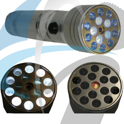 9LED TORCH (USES 3AAA) BATTERY