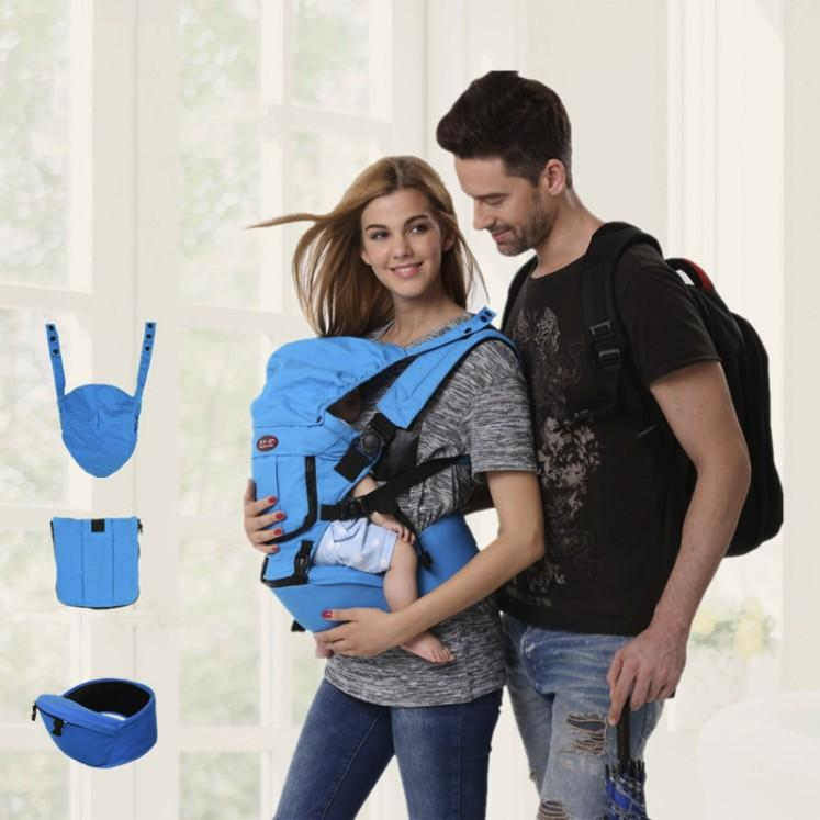 The Kangaroo Hipster Multi Position Baby Carrier - Mini Chic Outlet