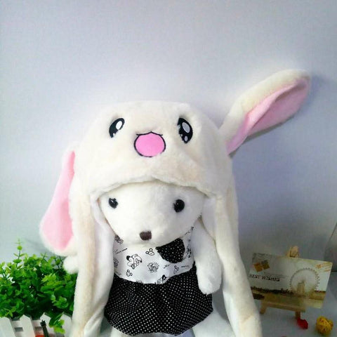 Image of Tik Tok Bunny Hat - Dancing Ears Cute Animal Plush Hat - Mini Chic Outlet
