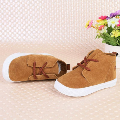 Image of Kids BOTAS Suede Boots 2-5 Years - Mini Chic Outlet