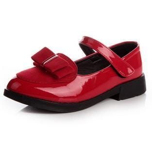 Image of Girls Nino Flat Patent Shoes - Mini Chic Outlet