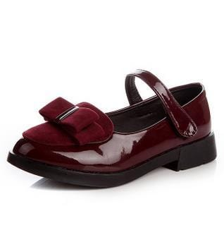 Girls Nino Flat Patent Shoes - Mini Chic Outlet