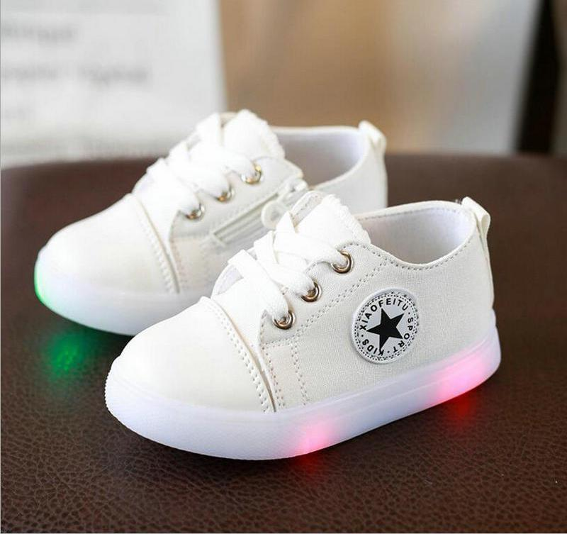 Tap to expand · Kids Converse Style Shoes for Baby and Toddler With Led  Lights - Mini Chic Outlet 0d30af90c