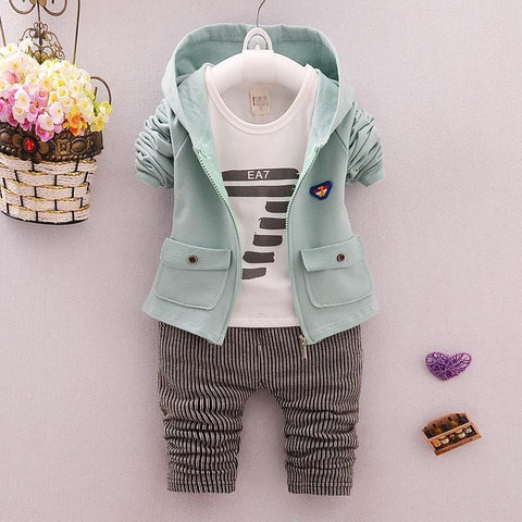 Boys 3 Piece Fashion Set 1-4 Years - Mini Chic Outlet