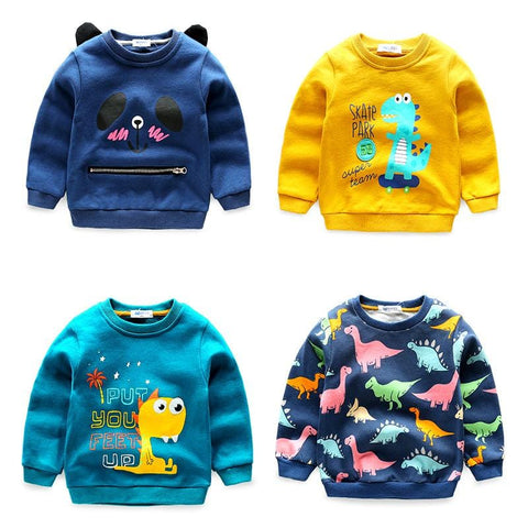 Cool Kids Dinosaur Sweatshirts - Mini Chic Outlet