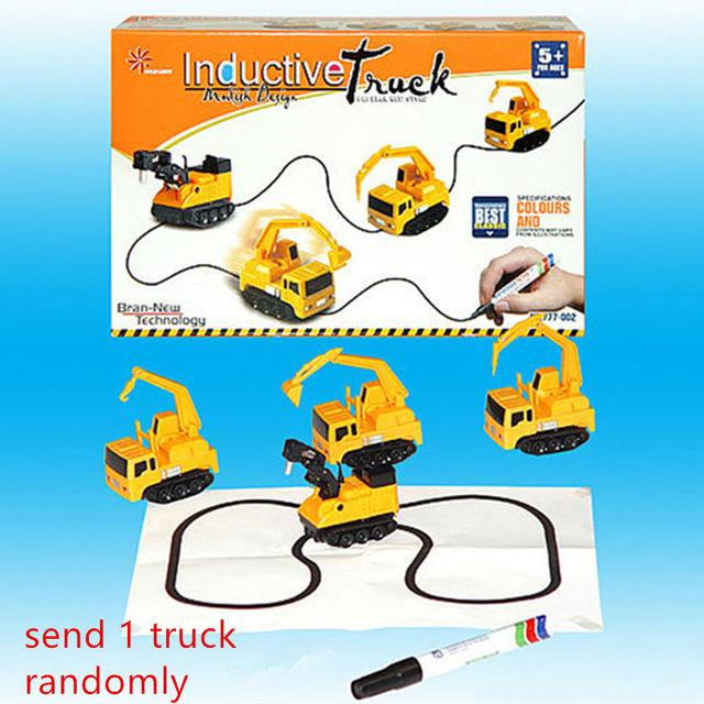The Magic Truck Inductive Toy - Mini Chic Outlet
