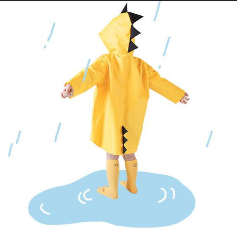 Cute Dinosaur Waterproof Rain Coat (1-6 years) - Mini Chic Outlet