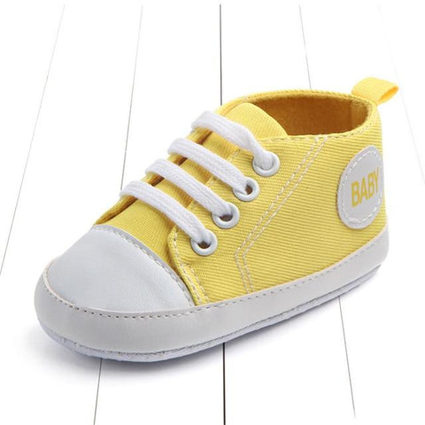 Image of Baby Sneakers - Converse Style Shoes For Kids - Mini Chic Outlet