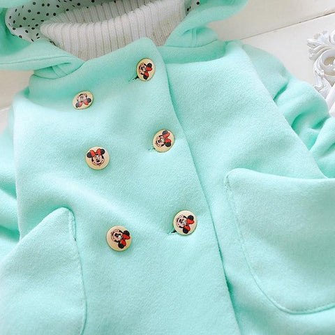 Image of Velvet Baby Girls Snow Wear Coat - Mini Chic Outlet