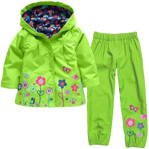 Kids 2 Piece Rain Suits (18 months - 6 years) - Mini Chic Outlet