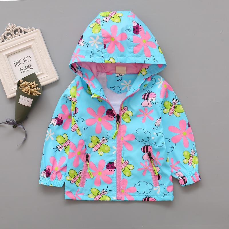 Kids Buzzing Bee Hooded Jacket (2-6 years) - Mini Chic Outlet