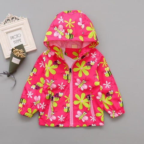 Image of Kids Buzzing Bee Hooded Jacket (2-6 years) - Mini Chic Outlet