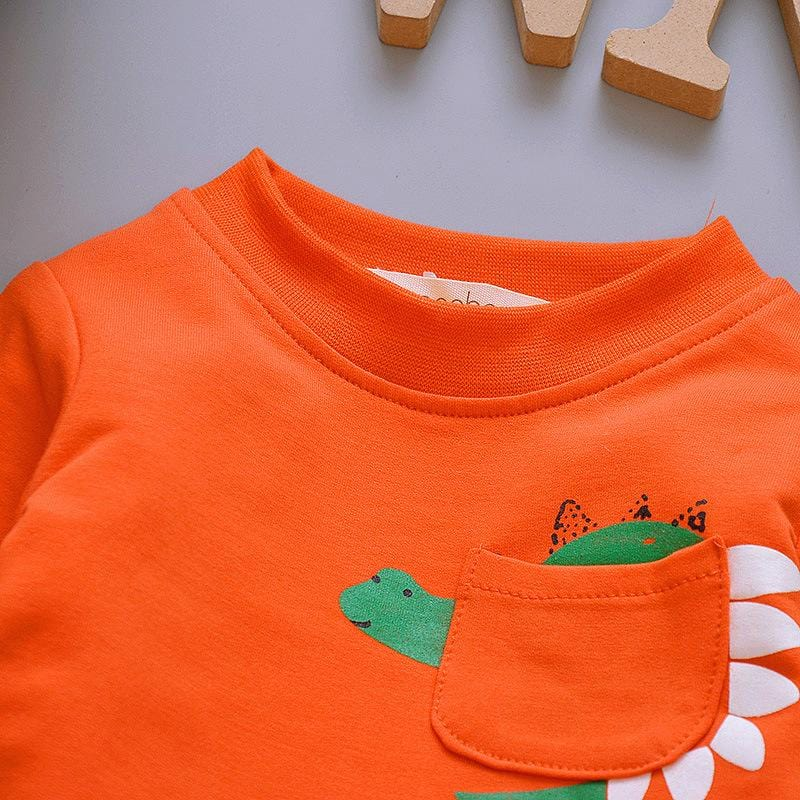 Kids 3 Piece Dinosaur Graffiti Tracksuits (1- 6 Years) - Mini Chic Outlet
