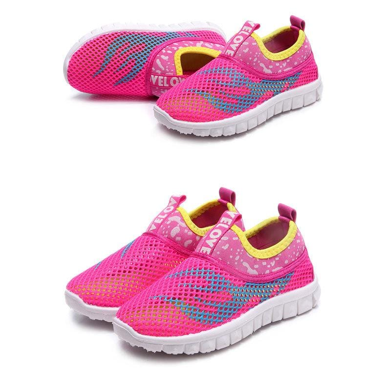 Junior Airmesh GS Go Trainers (Toddler To Big Kid Sizes) - Mini Chic Outlet