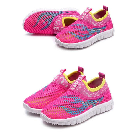 Image of Junior Airmesh GS Go Trainers (Toddler To Big Kid Sizes) - Mini Chic Outlet
