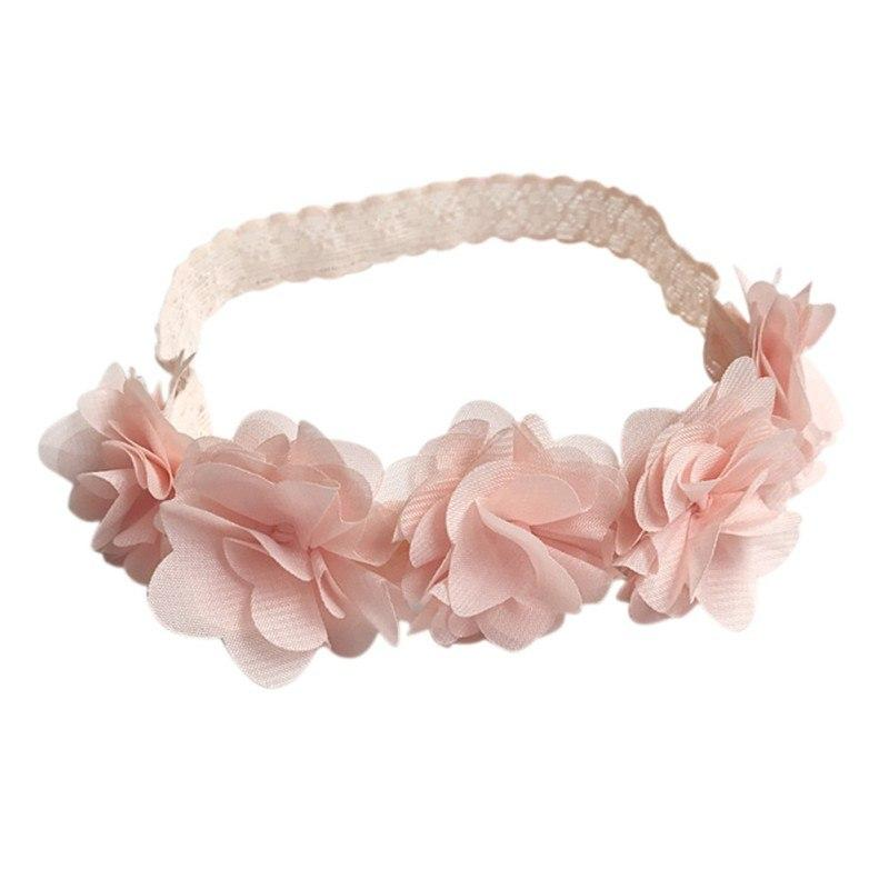 Headbands With Flowers For Baby Girl - Mini Chic Outlet