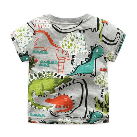 Image of Kids 3 Piece Dinosaur Graffiti Tracksuits (1- 6 Years) - Mini Chic Outlet