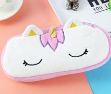 Kawaii Pencil Case - Unicorn Plush Pencil Bag 20Cm - Mini Chic Outlet