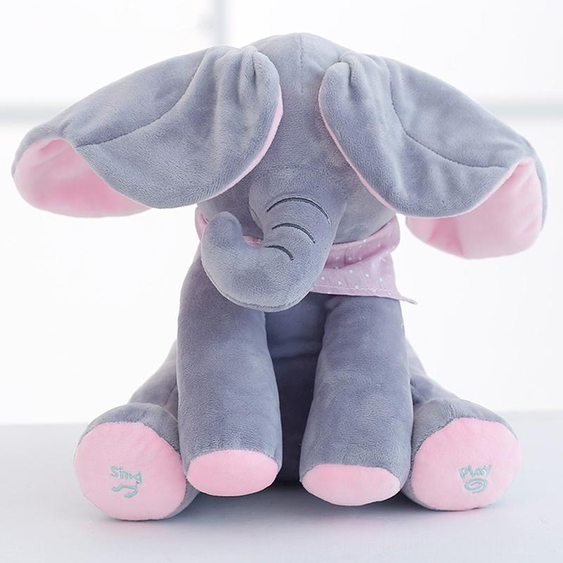 Peek A Boo Elephant And Bear - Musical Toys For Kids - Mini Chic Outlet