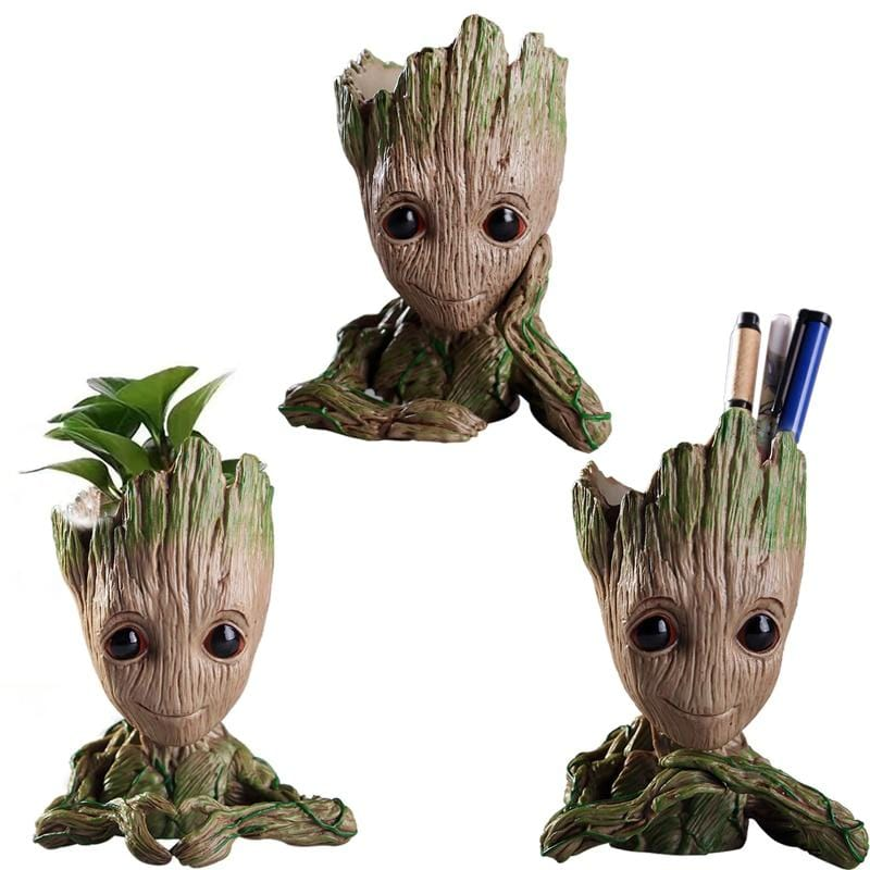 Baby Groot Flowerpot and Pen Holder - Mini Chic Outlet