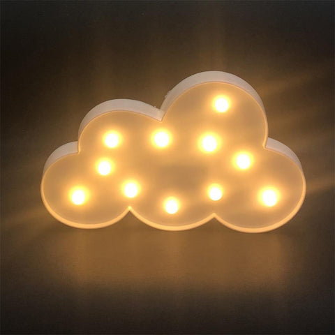 Image of Cloud Shape Bedside Lamp - Mini Chic Outlet