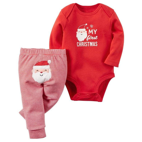 Image of Emmababy Xmas Romper - Mini Chic Outlet