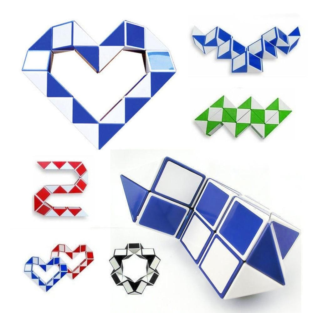 Magic Snake -  3D Rubik Snake - Mini Chic Outlet