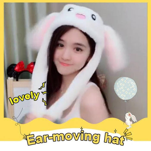 Tik Tok Bunny Hat - Dancing Ears Cute Animal Plush Hat - Mini Chic Outlet