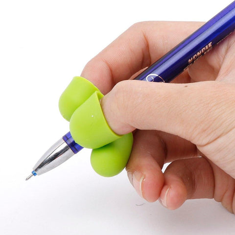 Image of 3 Fingers Pencil Grip Writing Aid Ergonomic Posture Correction - 2 pcs - Mini Chic Outlet