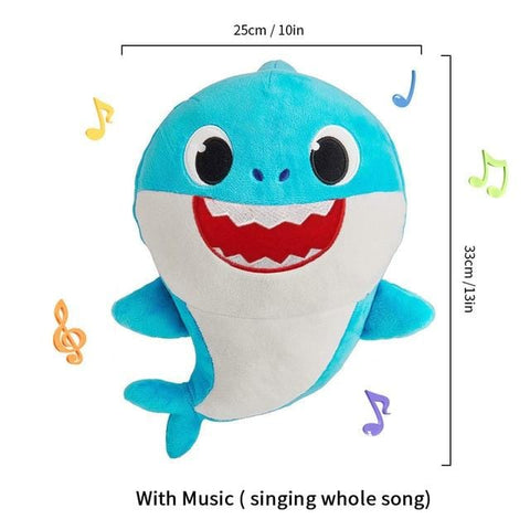 Baby Shark Musical Toy - Cute Animal Plush - Mini Chic Outlet
