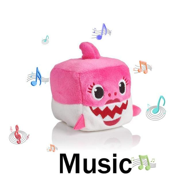 Baby Shark Plush Sound Cubes - Musical Shark Toy - Mini Chic Outlet