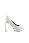 Pointed Platform Heel Pump - nose intl