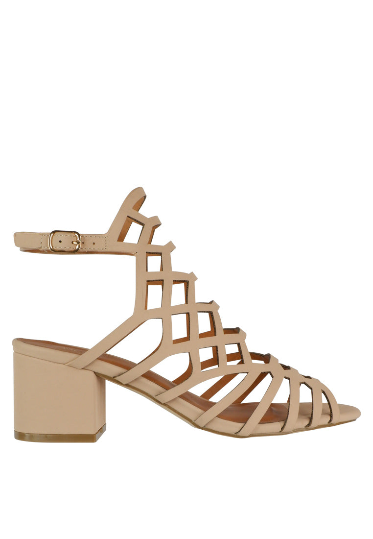 393613441e0 Strappy Heeled Sandal - nose intl
