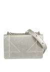 Embossed Synthetic Leather Chain Bag - nose intl