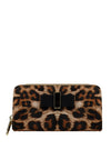 Cross Pu & Leopard Print Wallet - nose intl